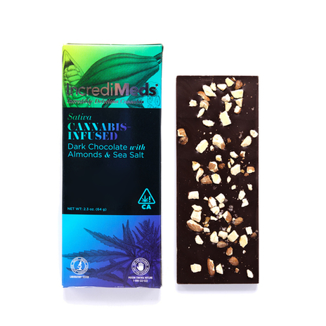 Dark Chocolate with Almonds & Sea Salt