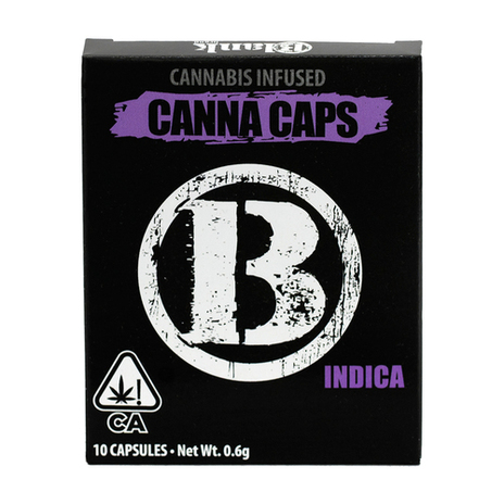 Blank Brand Canna Caps INDICA