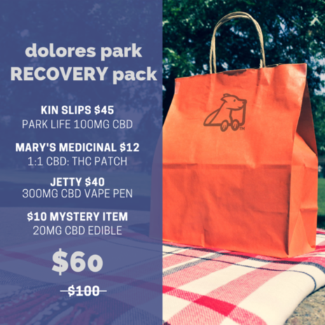dolores park RECOVERY pack