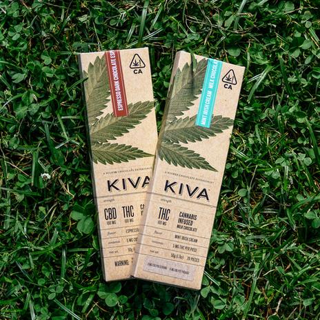 Kiva Mint Irish Cream Milk Chocolate Bar
