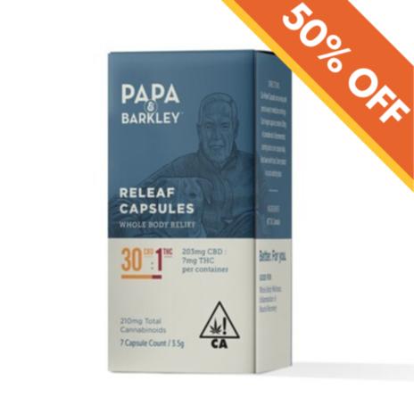 Papa & Barkley Releaf Capsules