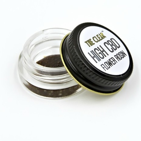 The Clear High CBD Flower Rosin
