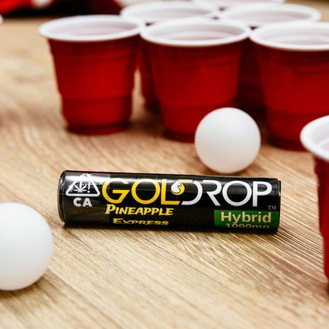 GoldDrop Black Standard 1000mg Cartridge