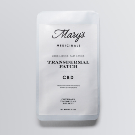 Mary's Medicinals Patch CBD