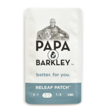 Papa & Barkley Releaf Patch 1:1 (THC:CBD)