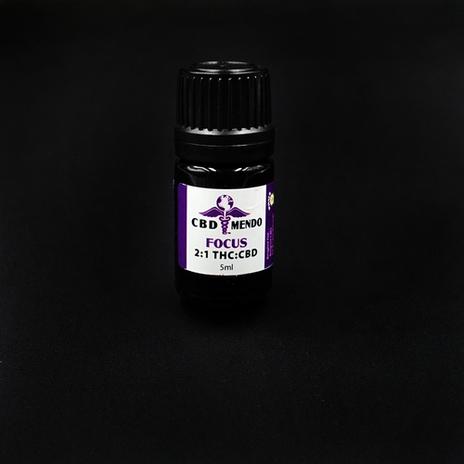 CBD Mendo Focus 2:1 THC:CBD