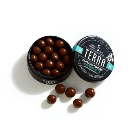 Kiva Terra Bites Peppermint Pattie