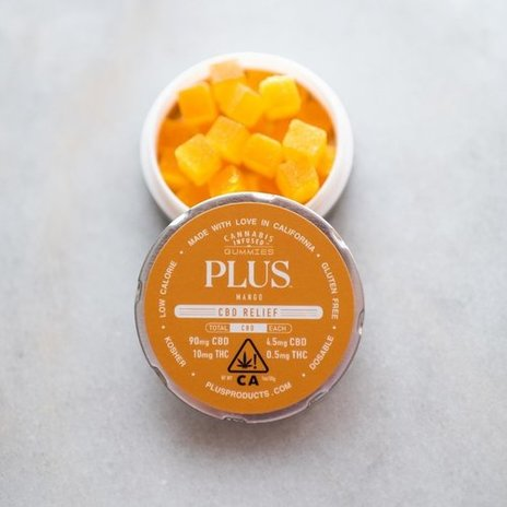 New! Mango PLUS Gummies