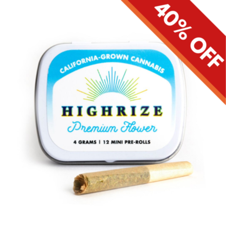 Highrize Premium Flower Mini Prerolls 12-Pack