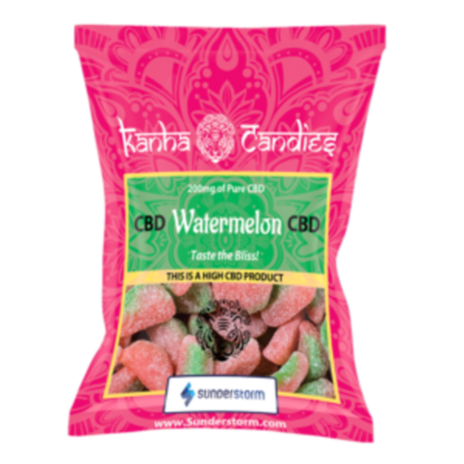 NEW! Kanha Candies Watermelon Gummies