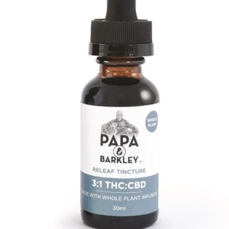 Papa & Barkley Releaf Tincture 3:1 (THC:CBD)