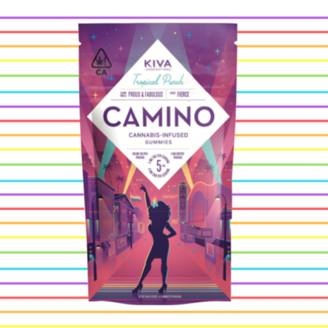 Kiva Camino Tropical Punch Gummies