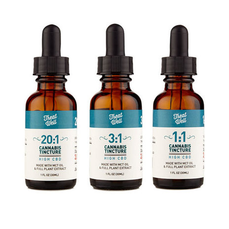 Treat Well CBD Rich Tinctures