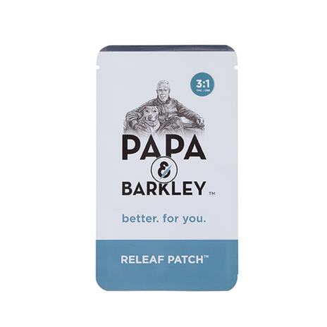 Papa & Barkley Releaf Patch 3:1 (THC:CBD)