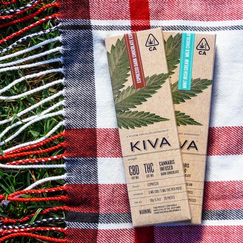 Kiva Expresso Dark Chocolate CBD
