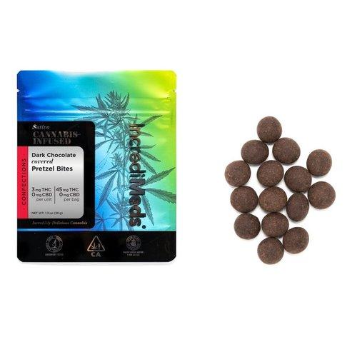 Pretzel Bites In Dark Chocolate