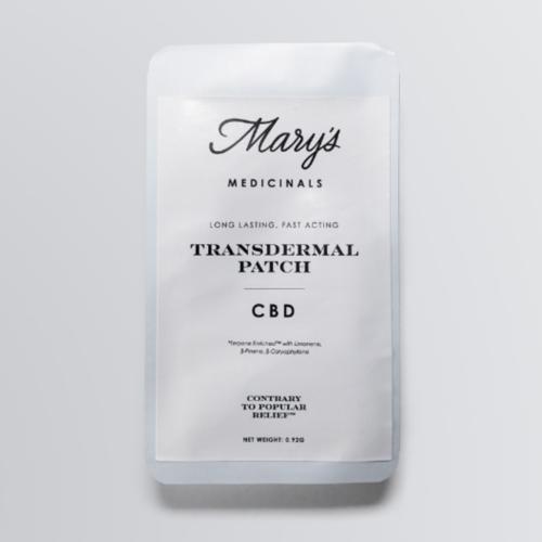 Mary's Medicinals Patch CBD